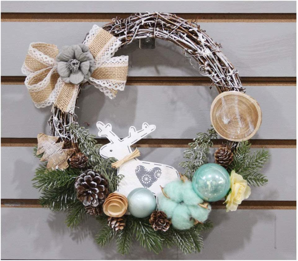Sales of SALE items from new works XINYU Christmas Wreath Handmade Deco Garland Rattan Xmas New color