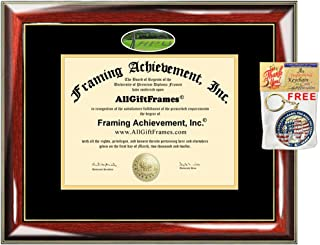 Hawaii Pacific University Diploma Frame HPU School Campus Photo Degree Framing Double mat Graduation Gift Bachelor Master MBA Doctorate PHD Certificate Holder Case