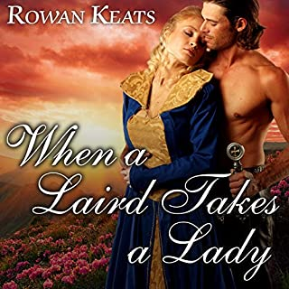 When a Laird Takes a Lady audiobook cover art