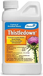 Monterey LG5482 Thistledown Weed Killer Thistle and Clover Control Concentrate, 8 oz, 8 oz