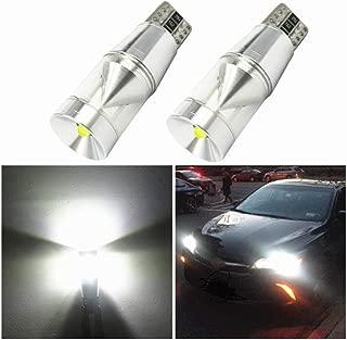 WLJH 2X CANBUS Error Free T10 194 LED Light Cree Chip LED Parking Lights Sidelight for Mercedes Benz W202 W220 W204 W203 W210 W124 W211 W222 W204 W164