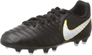 Nike Kids Jr. Tiempo Rio IV (FG) Firm Ground Soccer Cleat
