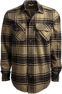 Timberland PRO Men`s A1V4K Woodfort Heavy-Weight Flannel Work Shirt