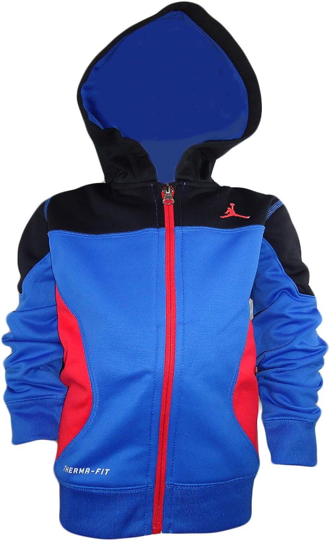 Jordan Activewear Front-Zip Hoodie Little Boys