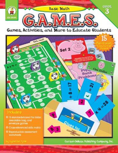 Basic Math G.A.M.E.S., Grade 3
