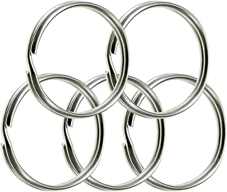 """Lucky Line 3"""" Nickel Plated Split Ring, 25 per Box (79100)"""