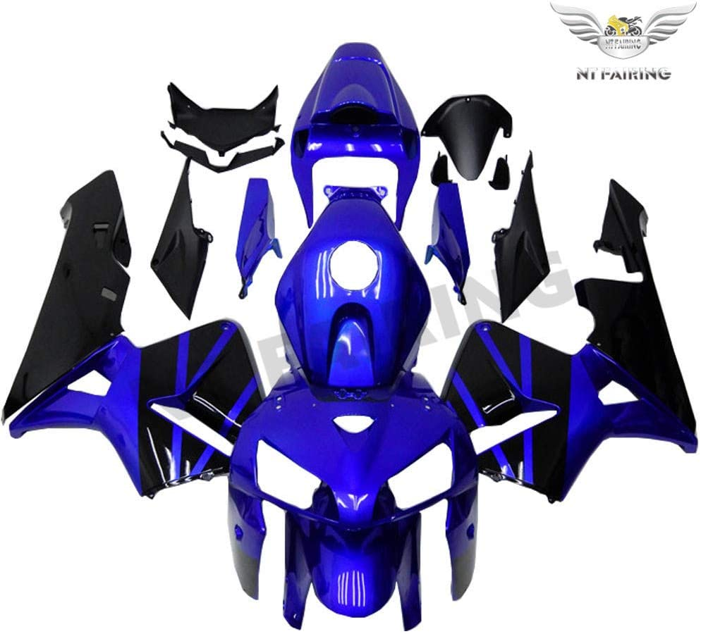 Fairing For Honda 2005 2006 CBR Black Be super welcome Max 64% OFF Injection Blue Plast 600RR