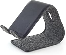 Distil Union Stanley - The Flexible Leather Phone Stand – Black