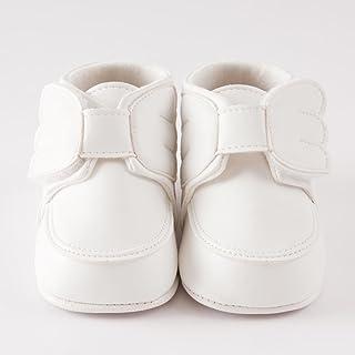 シシュノン ベビーシューズ ファーストシューズ 天使の羽根 合皮 ホワイト 11cm