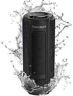 Tronsmart T6 Plus Cassa Bluetooth 40W, Altoparlante Waterproof IPX6 con Powerbank, Suono Stereo TWS, 15 Ore di Riproduzion...