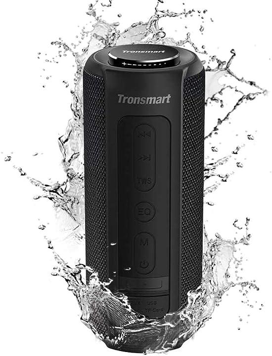 Tronsmart t6 plus cassa bluetooth 40w, altoparlante waterproof ipx6 con powerbank Tronsmart T6 Plus