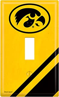 Keyscaper NCAA Single Toggle Light Switch Cover in 57'