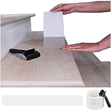 BangShou Transparante antislipstrips voor trappen 10x80cm met 15 rollen Antislip doorzichtige zelfklevende tape voor kinde...