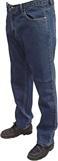 Boston Mens Strong Tough Jeans 30 to 64 Waist Black or Blue