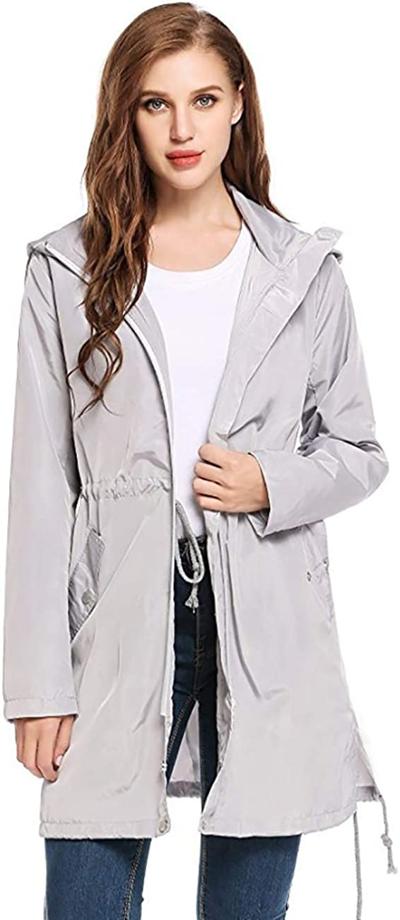 Sugar Pocket Womens Cargo Style Anorak Hoodie Jacket