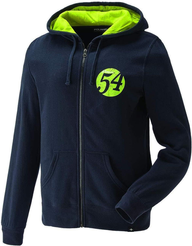 Polaris Women's Full-Zip Retro Hoodie Sweatshirt with Polaris Logo