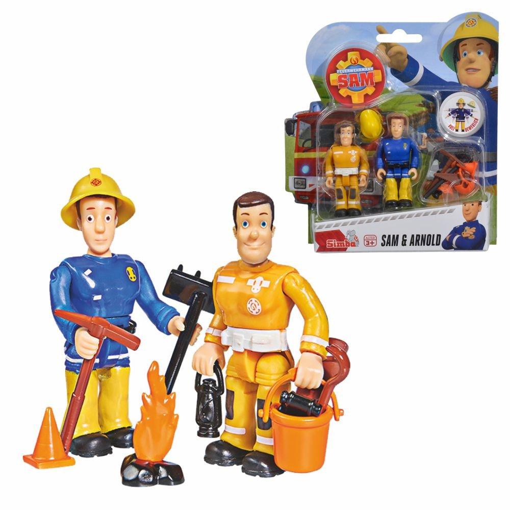 Fireman Sam Sam & Arnold Play Figures Set | Simba Toys