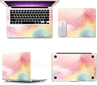 E-COAST】New MacBook Pro 13インチ 2016 新しいMacBook Pro Touch Bar非搭載モデル専用本体保護シート 蓋&底面&リストシール&トラックパッド保護フィルム マウスパッド付き キズ防止 全保護タイプ (星空)