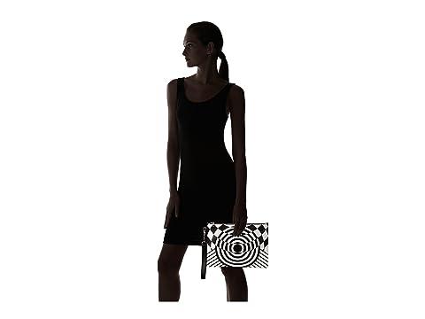 Versace Folio Versace Negro Blanco Impreso Impreso Yv0HwqH