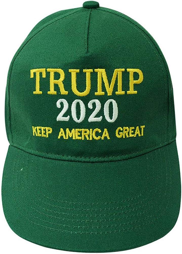 Donald Trump Hat 2020 Keep America Great 3D Embroidery Adjustable Baseball Cap Hat Zebery Trump 2020 Hat