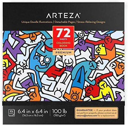 731 opinioni per Arteza Libri da Colorare per Adulti, Album da Colorare di Immagini Fantasia, 72