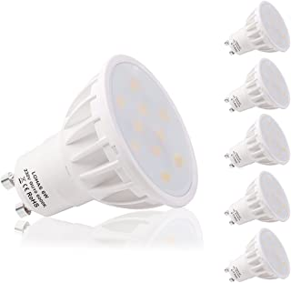 comprar comparacion LOHAS® Bombilla LED 6W GU10, Igual a Bombilla Halógena de 50W, 6000K, Blanco Diurno,500lm, Paquete de 5 Unidades