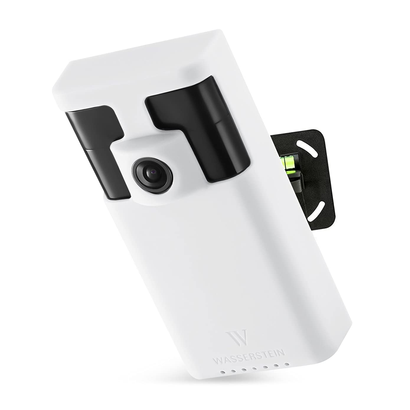 Wasserstein Weatherproof and UV light Resistant Silicone Skins for Ring Stick Up Cam Security Camera with Extra Layer of Protection for your Ring camera (White) 4897080222943