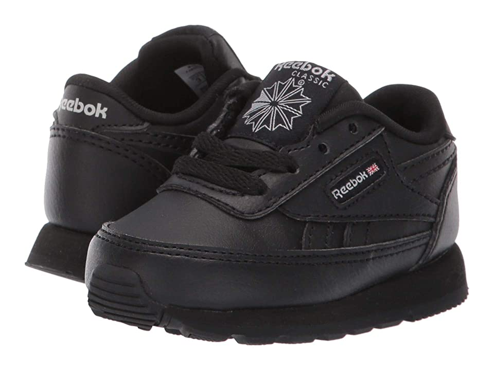 Reebok Kids CL Renaissance (Infant/Toddler/Little Kid) (Black/Dark Grey Heather Solid Grey) Kids Shoes