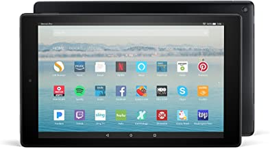 "Certified Refurbished Fire HD 10 Tablet with Alexa Hands-Free, 10.1"" 1080p Full HD Display, 32 GB, Black - with Special Offers (Previous Generation - 7th)"