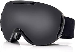 N-B Gafas De Esquí Doble Antivaho Suministros De Esquí Tarjeta MiopíA Gafas De Esquí Gafas De MontañIsmo Masculinas Espejo De Viento