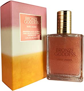 Estee Lauder Bronze Goddess Shimmering Body Oil Spray, 1.5 Ounce