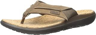 Teva Men's Terra-Float Lux Leather Flip Flop