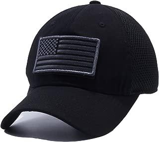 US Patch Adjustable Plain Trucker Baseball Cap Hats (Multi-Colors)