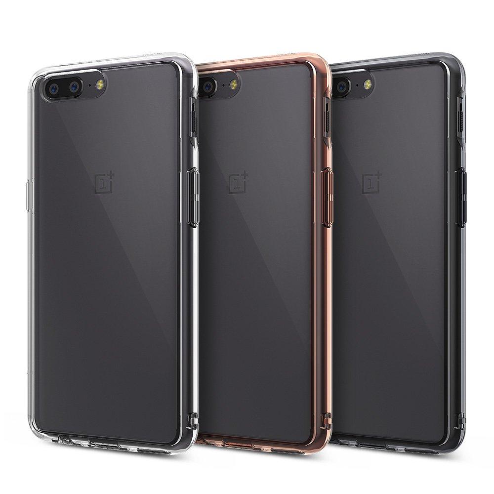 Ringke Funda OnePlus 5 [Fusion] Cristalino Transparente al Dorso ...