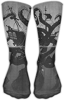 Women Men Classics Socks Kraken Tentacle Octopus Athletic Stockings 30cm Long Sock One Size
