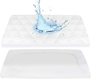Pack N Play Mattress Pad Cover 100% Waterproof, 27