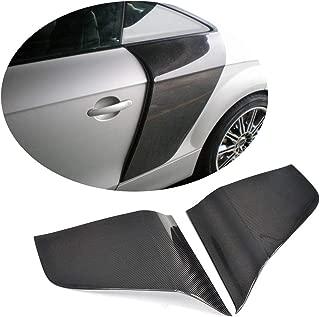 MCARCAR KIT Fender Vent fits Audi Mk2 8J TT TTS TTRS 2Door 2008-2014 Factory Outlet Carbon Fiber CF Rear Side Scoop Blades Rear Exterior Decor Body Kit