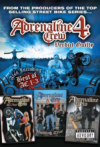 Price comparison product image Adrenaline Crew,  Vol. 4: Verdict Guilty