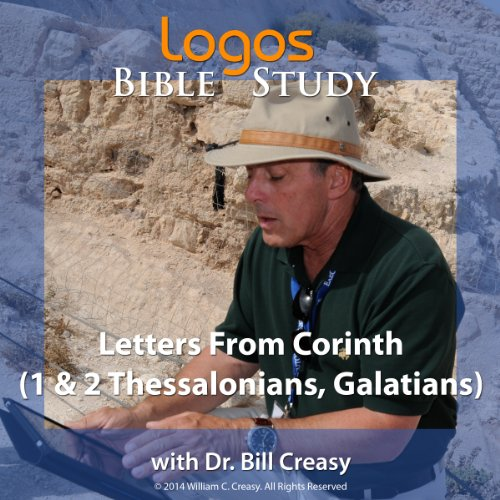 Letters from Corinth (1 & 2 Thessalonians, Galatians) audiobook cover art