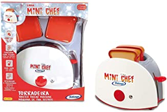 Torradeira Mini Chef Xalingo Vermelho Pequeno