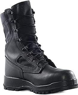 Tactical Bundle: Belleville Men's Hot Weather Steel Toe Boot Black 11 R & Cap
