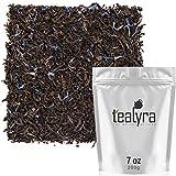 Tealyra - Cream Earl Grey - Classic Black Loose Leaf Tea - Citrusy with Vannilla Flavor - Fresh Award Winning Tea - Medium Caffeine - All Natural Ingredients - 200g (7-ounce)