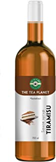 The Tea Planet - Tiramisu Syrup to Coffee, Tea, and Specialty Cocktails, Non - GMO, Gluten-Free, Vegan (700 ml )