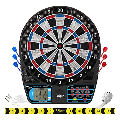 Viper 787 Electronic Dartboard, Ultra Thin Spider...