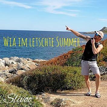 Wiä im letschte Summer