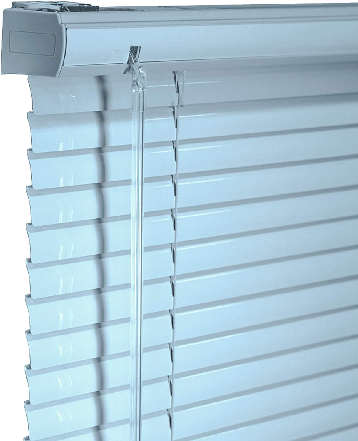 CHICOLOGY New Orleans Mall Custom Made Cordless 1-Inch Daily bargain sale Blind Mini Aluminum Black
