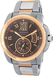 Calibre de Cartier Automatic-self-Wind Male Watch W7100050 (Certified Pre-Owned)