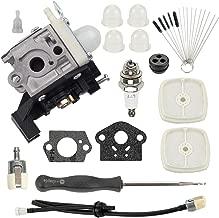 Hayskill RB-K93 Carburetor SRM-225 with Air Filter Tune Up Kit for Echo SRM225 SRM225i SRM225U SRM225SB GT225 GT225i GT225L GT225SF PAS225 PE225 PPF225 SHC225 Trimmer