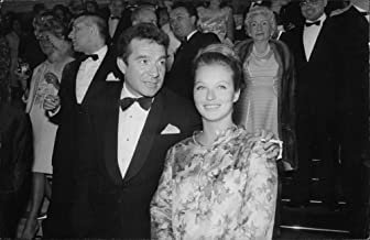 Vintage photo of Marina Vlady with her husband Jean-Claude Brouillet.