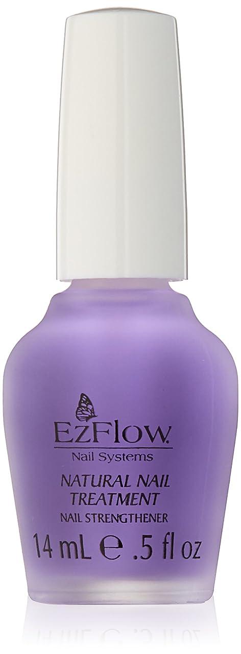 化合物アジャ実験EZ FLOW Natural Nail Treatment, 0.5 Ounce by EzFlow